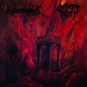 RUNEMAGICK / CHTHONIC DEITY - split LP