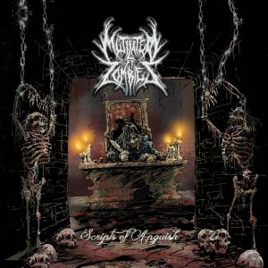 MUTILATED BY ZOMBIES (USA) – 'Scripts of Anguish' CD
