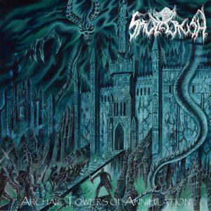 SKULLCRUSH (USA) – 'Archaic Towers of Annihilation' CD