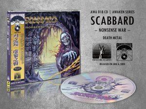 SCABBARD (Cz) – 'Nonsense War' CD