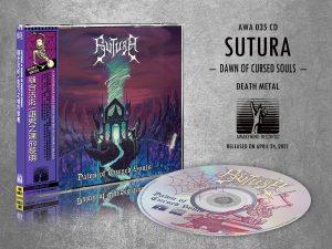 SUTURA (Bra) – 'Dawn of Cursed Souls' CD