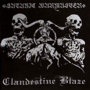 CLANDESTINE BLAZE / SATANIC WARMASTER(Fin) – split CD Digipack