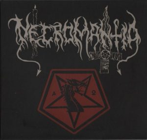 NECROMANTIA (Gr) -'Chthonic Years / Demo Collection' 2-CD Digisleeve