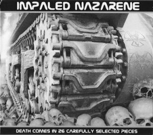 IMPALED NAZARENE (Fin) – 'Death Comes in 26 Carefully…' CD