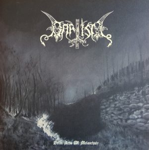 BAPTISM (Fin) – 'Grim Arts of Melancholy' D-LP Gatefold