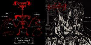 NECROVOMIT / IN LEAGUE WITH SATAN - split CD