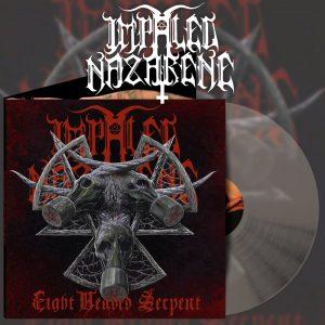 IMPALED NAZARENE (Fin) – 'Eight Headed Serpent' LP Gatefold (Clear vinyl)