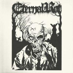 """ETERNAL ROT (Pol) – 'Grave Grooves' 7""""EP (White vinyl)"""