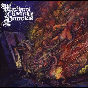 BEASTIALITY (Swe) – 'Worshippers of Unearthly Perversions' LP