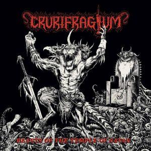 CRURIFRAGIUM (USA) - Beasts of the Temple of Satan CD