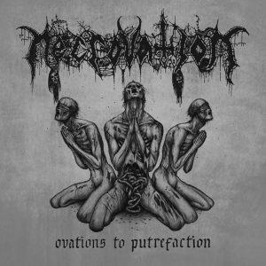 NECROVATION (Swe) – 'Ovations to Putrefaction' MLP (Gray vinyl)