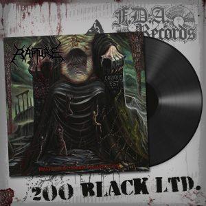RAPTURE (Gr) – 'Malevolent Demise Incarnation' LP (Black vinyl)