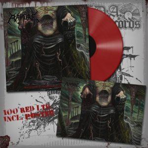 RAPTURE (Gr) – 'Malevolent Demise Incarnation' LP (Red vinyl)