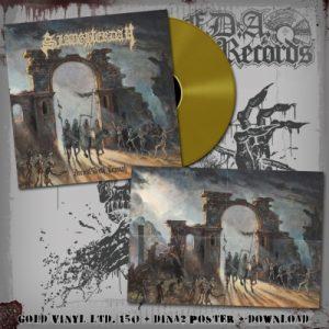 SLAUGHTERDAY (Ger) - Ancient Death Triumph LP Gatefold (Gold vinyl)