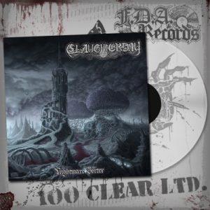 SLAUGHTERDAY (Ger) – 'Nightmare Vortex' LP (Clear vinyl)