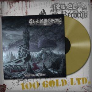 SLAUGHTERDAY (Ger) – 'Nightmare Vortex' LP (Gold vinyl)