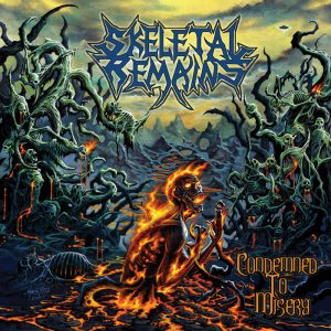 SKELETAL REMAINS (USA) – 'Condemned To Misery' CD