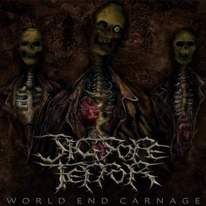 JIGSORE TERROR (Swe) - 'World End Carnage' 2-CD Digipack