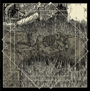 "MITOCHONDRION / AUROCH (Can) – split 7""EP Gatefold"
