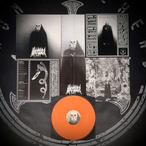 BLACK CILICE (Por) – 'Banished from Time' LP (Orange vinyl)