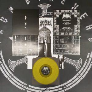 BLACK CILICE (Por) – 'Mysteries' LP (Yellow vinyl)
