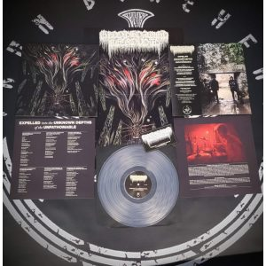 BLOODSOAKED NECROVOID (Cri) - Expelled into the... LP (Clear vinyl)