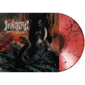INCANTATION (USA) – 'Dirges of Elysium' LP (Orange/black marble)