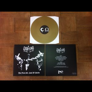 LEVIATHAN (USA) – 'The first sublevel of suicide' LP (Gold vinyl)