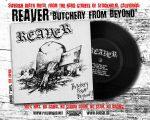 "REAVER (USA) – 'Butchery From Beyond' 7""EP"