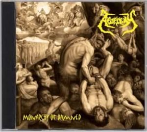 APOPLEXY (Sk) – 'Monarchy of Damned' CD