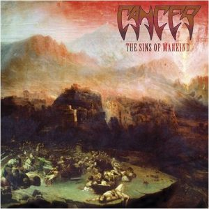 CANCER (Uk) – 'The Sins of Mankind' CD