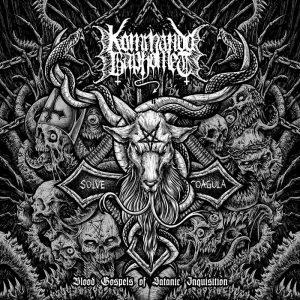 KOMMANDO BAPHOMET (Por) – 'Blood Gospels of Satanic Inquisition' CD