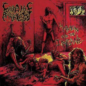 CARDIAC ARREST (USA) – 'Haven for the Insane' CD Slipcase
