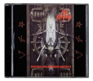 SHUB NIGGURATH (Mex) – 'Evilness & Darkness Prevail + bonus' CD
